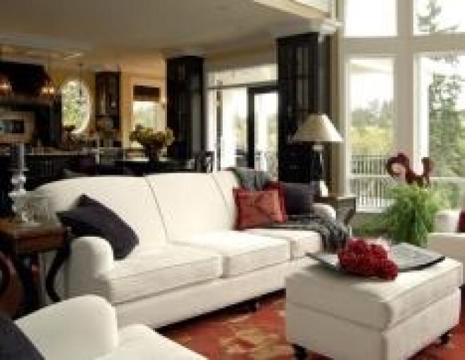 Мягкая мебель в интерьере дома
