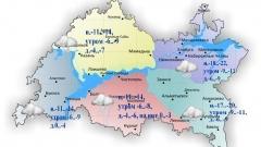 Новости Погода - Сегодня по республике временами ожидается снег и мокрый снег
