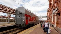 В августе изменят расписание маршрута поезда Казань-Канаш