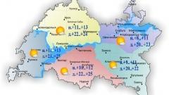 Новости  - Завтра в Казани и по Татарстану воздух прогреется до +20..+25˚