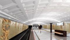 Работы на станции метро
