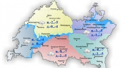 Новости Погода - По республике сегодня ожидается облачность и небольшой снег