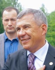 Новости  - Рустам Минниханов посетил соревнования Универсиады
