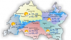 Новости  - 7 мая столбик термометра в Татарстане поднимется до 27 градусов