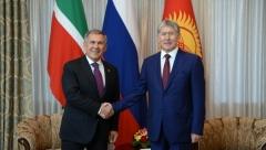 Новости Политика - Президент РТ прибыл в Бишкек с рабочим визитом