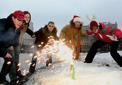 Новости  - Запускать новогодние фейерверки в Казани разрешили лишь на одной площадке