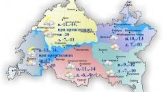 Новости  - В Татарстане похолодание: температура днём опустится до  -6..-11