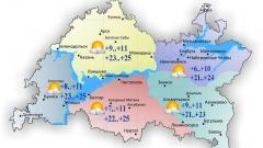 18 июня в Татарстане теплая солнечная погода