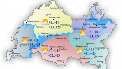 Новости Погода - 18 июня в Татарстане теплая солнечная погода