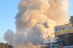 Новости  - Пожар на автозаправке в Казани: взрыва топлива удалось избежать