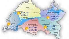 Сегодня по Татарстану без осадков