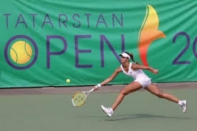 В Казани  проходит престижный женский теннисный турнир Tatarstan Open