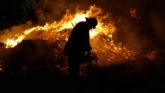 Новости  - До 10 сентября по республике сохраняется высокая пожароопасность лесов