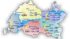 Новости Погода - 20 июня в Татарстане жаркая погода с кратковременными осадками
