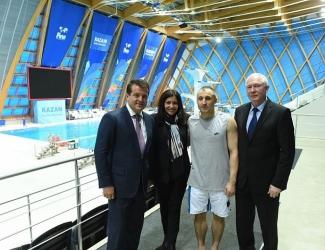 Ильсур Метшин показал мэру Парижа Анн Идальго спортивную Казань