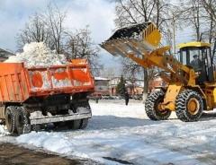 Новости  - Уборка снега