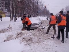 Новости  - Со снегопадом в Казани борются 387 дорожных рабочих и 231 единица спецтехники