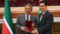 Новости Политика - Минниханов вручил Президенту Туркменистана орден «Дуслык»