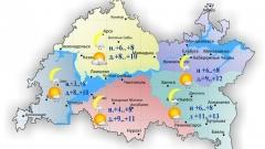 Новости Погода - Сегодня по республике ожидается умеренный дождь