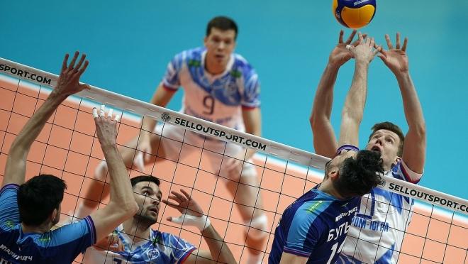 Волейбольный клуб «Зенит» обыграл команду «Газпром-Югра»