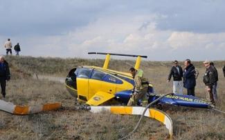 Возбуждено уголовное дело по факту крушения вертолёта Robinson в Татарстане
