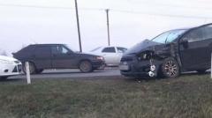 Новости  - Накануне в Татарстане столкнулись автомобиль и автобус