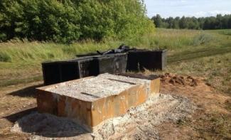 Поклонный крест в Татарстане спилил депутат «Справедливой России»