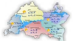 Новости  - Сегодня по Татарстану местами небольшой снег