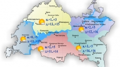 Новости  - 30 августа по Татарстану воздух прогреется до 16 градусов