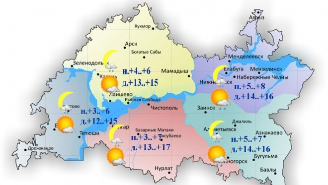 Новости  - Сегодня по республике столбик термометра поднимется до 17 градусов тепла