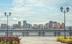 Новости  - Набережная Казанки будет достроена в 2015 году