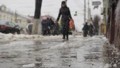 Новости  - Погода ухудшилась: Госавтоинспекция просит водителей заменить шины