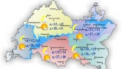 Сегодня температура в Татарстане поднимется до +26..+31