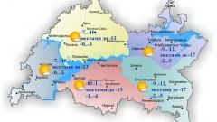 Новости  - 15 ноября столбик термометра в Татарстане опустится до минус 5 градусов