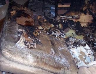 13-летняя жительница Казани пострадала на пожаре