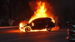 Новости Происшествия - Полицией республики был задержан подозреваемый в поджогах автомобилей