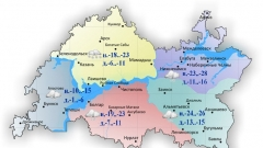 Новости  - 5 февраля в Казани и по Татарстану днем местами сильный снег