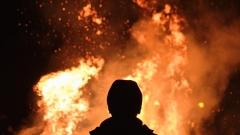 Новости Происшествия - В поселке Алексеевское загорелся частный дом
