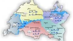Новости  - 28 февраля по Татарстану ожидается локальная слабая метель
