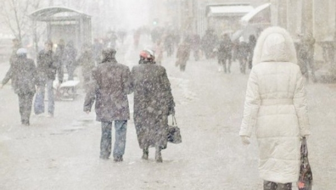 Сегодня по Татарстану ожидается мокрый снег и морось