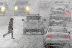 Новости  - Из-за снегопада в Казани произошло более сотни аварий