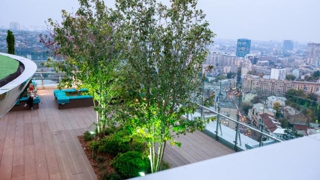 В столице Татарстана появится жилой дом с парком на его крыше