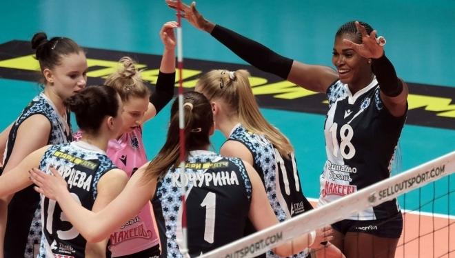 Казанские волейболистки обыграли красноярский «Енисей»