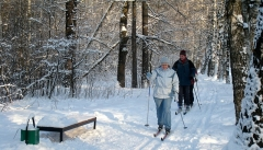 Новости  - Новые освещенные лыжные трассы появятся в парках Казани