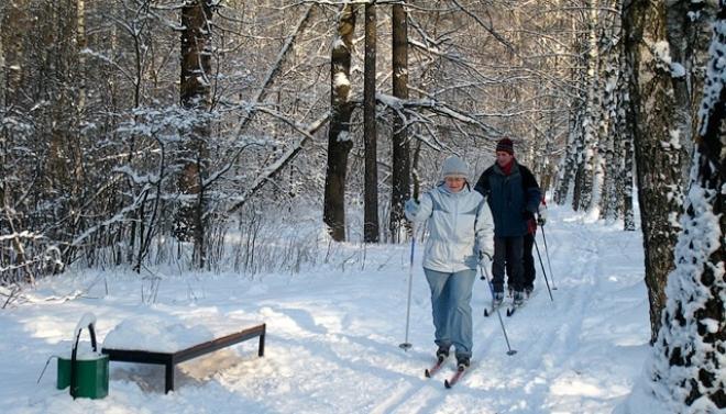 Новые освещенные лыжные трассы появятся в парках Казани