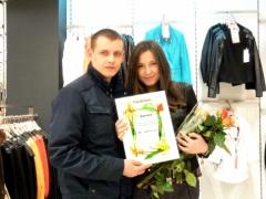 Новости  - Победитель фотоконкурса получила стильный кожаный презент