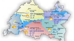 Новости Погода - Сегодня по республике Татарстан температура воздуха опустится до 7 градусов мороза