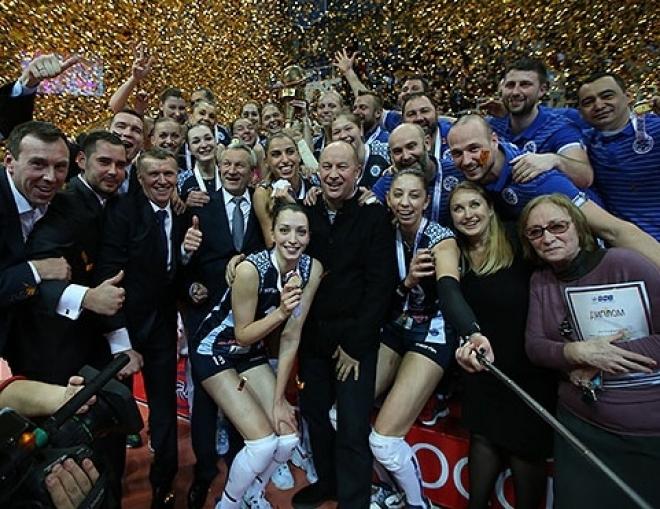 Волейболистки казанского «Динамо» перед Новым годом взяли Кубок России