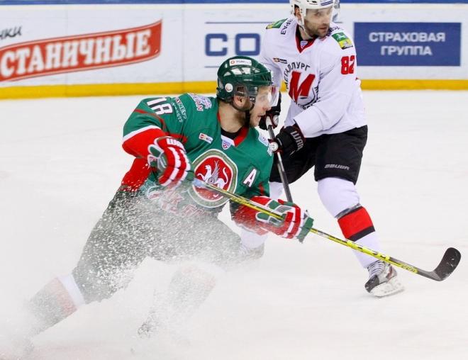 «Ак Барс» на своём льду сразится с «Металлургом» в третьем матче серии