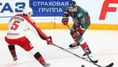 Новости  - Казанские «барсы» обыграли клуб «Автомобилист»